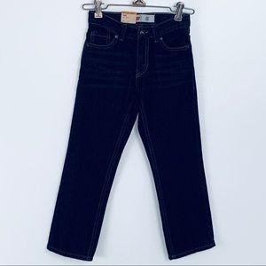 NWT Levi's 511 Slim Dark Blue Jeans Sz 6 Regular